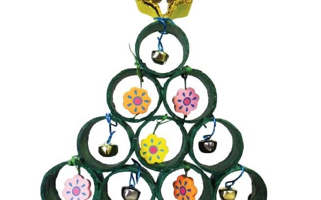 Célèbre Lavoretti per il Natale: Albero di Natale Creativo | Blog  MB27
