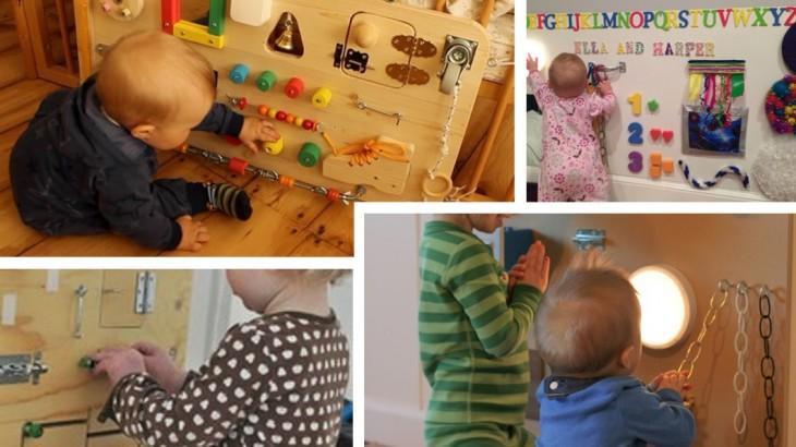 abbastanza Montessori: Pannello sensoriale Fai da Te | Blog - Borgione Centro  DW59